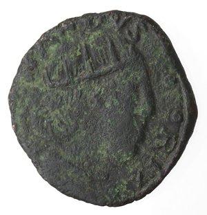 obverse: L  Aquila. Ferdinando I d Aragona. 1458-1485. Cavallo. Ae.