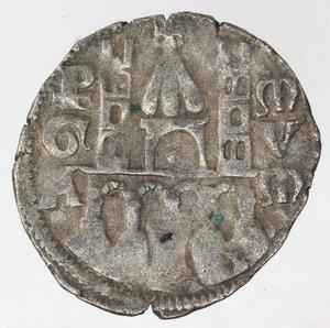 reverse: Bergamo. Comune. 1236-XIV Sec. Denaro. Mi.