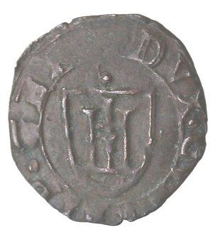 reverse: Genova. Dogi biennali. 4 Denari. 1596. Mi.