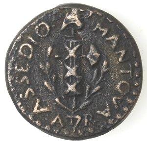 obverse: Mantova. Assedio Austro Russo. 1799. Soldo.