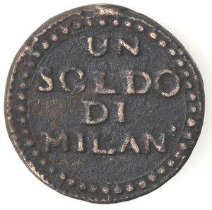 reverse: Mantova. Assedio Austro Russo. 1799. Soldo.