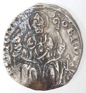 reverse: Milano. Filippo Maria Visconti. 1412-1447. Grosso. Ag.