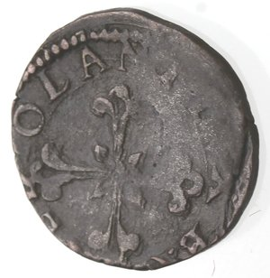reverse: Milano. Filippo III. 1598-1621. Sesino s.d. Cu.