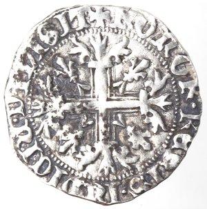 reverse: Napoli. Roberto d Angiò. 1309-1343. Gigliato. Ag.