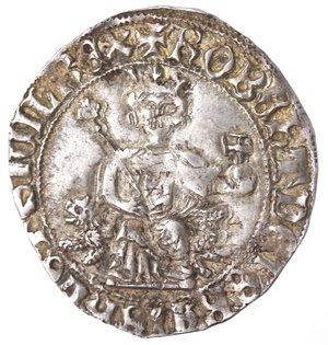 obverse: Napoli. Roberto d Angiò. 1309-1343. Gigliato. Ag.