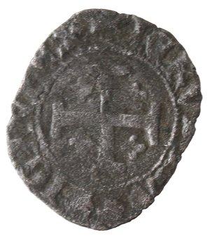 obverse: Napoli. Carlo III di Durazzo. 1382-1385. Denaro. Mi.