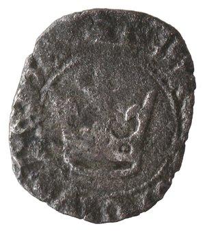 reverse: Napoli. Carlo III di Durazzo. 1382-1385. Denaro. Mi.