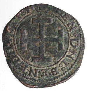 reverse: Napoli. Federico III d Aragona. 1496-1501. Sestino. Ae.