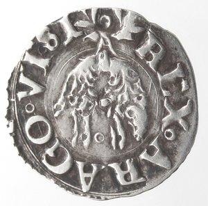 obverse: Napoli. Carlo V. 1516-1554. Cinquina. Ag.