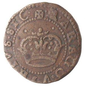 reverse: Napoli. Carlo V. 1516-1556. Da 2 cavalli con corona. AE.