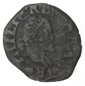 obverse: Napoli. Filippo II. 1554-1598. Cavallo. AE.