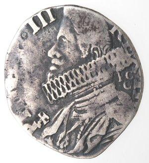 obverse: Napoli.Filippo III. 1598-1621. 15 grana 1618. Ag.