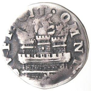 reverse: Napoli.Filippo III. 1598-1621. 15 grana 1618. Ag.