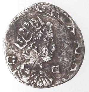 obverse: Napoli. Filippo III. 1598-1621.Mezzo Carlino. Ag.