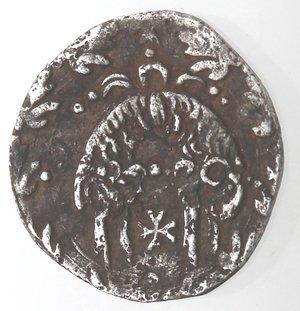 reverse: Napoli. Filippo III. 1598-1621.Mezzo Carlino. Ag.