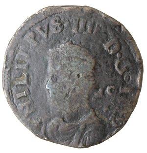 obverse: Napoli. Filippo IV. 1621-1665.Pubblica 1622 sigle MC.AE.