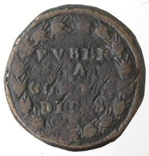 reverse: Napoli. Filippo IV. 1621-1665.Pubblica 1622 sigle MC.AE.
