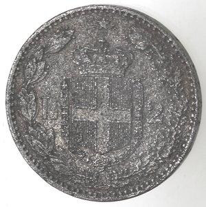 R/ Casa Savoia. Umberto I. 1878-1900. 2 Lire 1883. MB. Gig. 27. MB. Falso d'epoca.