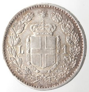 R/ Casa Savoia. Umberto I. 1878-1900. Lira 1900. Ag. Gig. 41. SPL+.