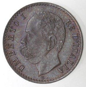 D/ Casa Savoia. Umberto I.1878-1900. Centesimo 1900. Ae. Gig 62.qFDC.