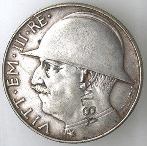 D/ Casa Savoia. Vittorio Emanuele III. 1900-1943. 20 lire 1928 Anno VI. Cappellone. MB. Gig. 37. Peso gr. 15,27. qSPL. Falso d'epoca. NC.