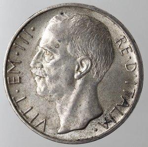 D/ Casa Savoia.Vittorio Emanuele III.1900-1943.10 lire 1928 Biga. Una rosetta.Ag.Gig. 57.BB+. NC.
