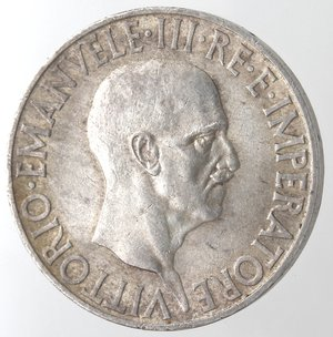D/ Casa Savoia. Vittorio Emanuele III. 1900-1943.10 lire 1936 Impero. Ag. Gig. 64. BB+.
