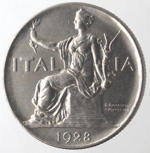 D/ Casa Savoia. Vittorio Emanuele III. 1900-1943.Buono da 1 Lira 1928.Ni.Gig. 143.SPL.