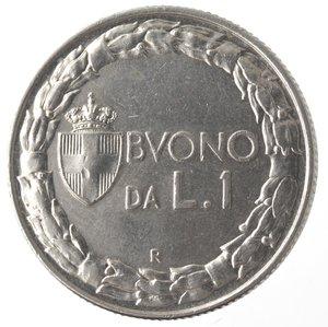 R/ Casa Savoia. Vittorio Emanuele III. 1900-1943.Buono da 1 Lira 1928.Ni.Gig. 143.SPL.