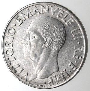 D/ Casa Savoia. Vittorio Emanuele III. 1900-1943.Lira Impero 1942 anno XX Magnetiche. Ac. Gig. 158.qFDC.