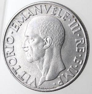 D/ Casa Savoia. Vittorio Emanuele III. 1900-1943. 1 Lira Impero 1943 anno XXI. Ac. Gig. 159.qFDC. R.