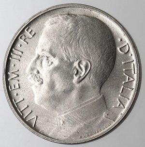 D/ Casa Savoia. Vittorio Emanuele III. 1900-1943.50 centesimi 1920 Leone. Bordo liscio. Ni. Gig. 164.SPL+.