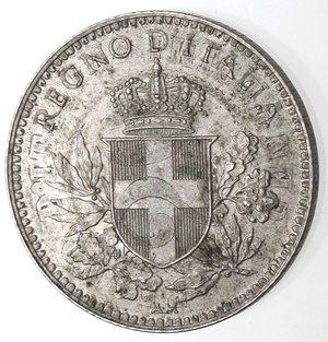 D/ Casa Savoia. Vittorio Emanuele III. 1900-1943. 20 centesimi 1919 Esagono Contorno liscio. Ni. Gig. 215. qFDC. Moneta evidentemente ribattuta su un'altra moneta.