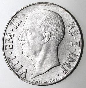 D/ Casa Savoia. Vittorio Emanuele III. 1900-1943.20 Centesimi 1941 Impero. Anno XVIII Magnetica. Ac. Gig. 221. qFDC.