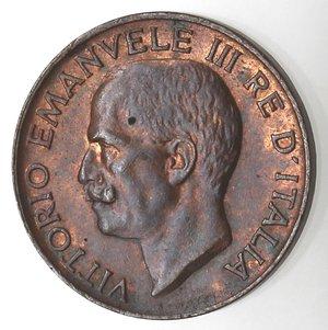 D/ Casa Savoia. Vittorio Emanuele III. 1900-1943.5 centesimi 1925 Spiga. Ae. Gig. 271. FDC.Rame rosso.