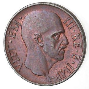 D/ Casa Savoia. Vittorio Emanuele III. 1900-1943. 5 centesimi 1936 Anno XIV Impero. Ae. Gig. 284. FDC. Rame rosso. NC.