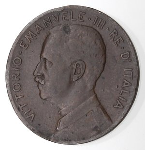 D/ Casa Savoia. Vittorio Emanuele III.1900-1943.2 Centesimi 1908 Donna su prora. Ae. Gig 298.BB. RR.