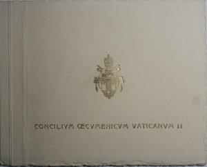 obverse: Giovanni XXIII. 1958-1963. Serie divisionale 1962 Concilio Ecumenico Vaticano II.