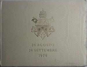 obverse: Vaticano. Giovanni Paolo I. 1000 lire 1978. Ag.
