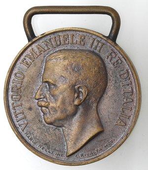 D/ Medaglie. Vittorio Emanuele III. 1900-1943. Per il 70° dell'unità d'Italia. Ae. Diametro mm. 31,50. La medaglia a ricordo dell'Unità d'Italia 1848-1918 fu istituita il 19 gennaio 1922 e conferita a tutti coloro i quali è stata concessa la medaglia commemorativa della guerra Italo-Austriaca. qSPL.