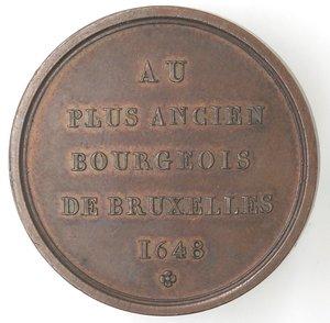 R/ Medaglie. Belgio. Medaglia 1820. Ae. Per la costruzione della fontana