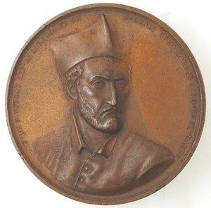 D/ Medaglie. Francia. Jean de Jouffroy d'Abbans. Medaglia 1841 Parigi. Ae. Diametro mm. 54,00. qSPL.