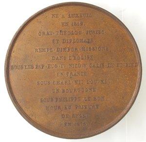 R/ Medaglie. Francia. Jean de Jouffroy d'Abbans. Medaglia 1841 Parigi. Ae. Diametro mm. 54,00. qSPL.