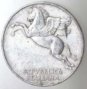 obverse: Repubblica Italiana. 10 lire 1948 Ulivo. It.