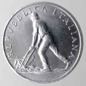 obverse: Repubblica Italiana. 2 lire 1948 Spiga. It. Gig 326. qFDC. Perizia Marco Esposito.