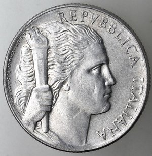 obverse: Repubblica Italiana. 5 lire 1950 Uva. It.