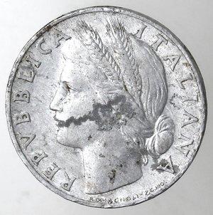 obverse: Repubblica Italiana.1 Lire 1950 Arancio. It. Gig 365.FDC.