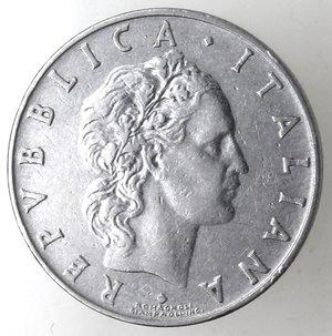 obverse: Repubblica Italiana.50 Lire 1958. Gig. 147.BB.