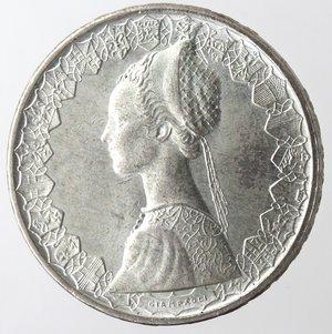 obverse: Repubblica Italiana. 500 lire Caravelle 1961. Ag.
