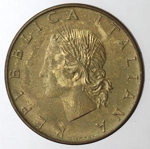 obverse: Repubblica Italiana. 20 lire 1970. P al posto della R di Roma. BR.